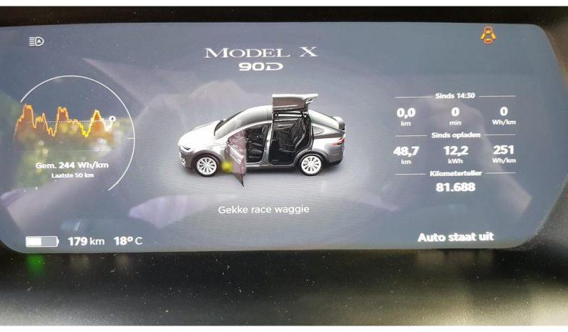 2017 Tesla Model X 90D Base full